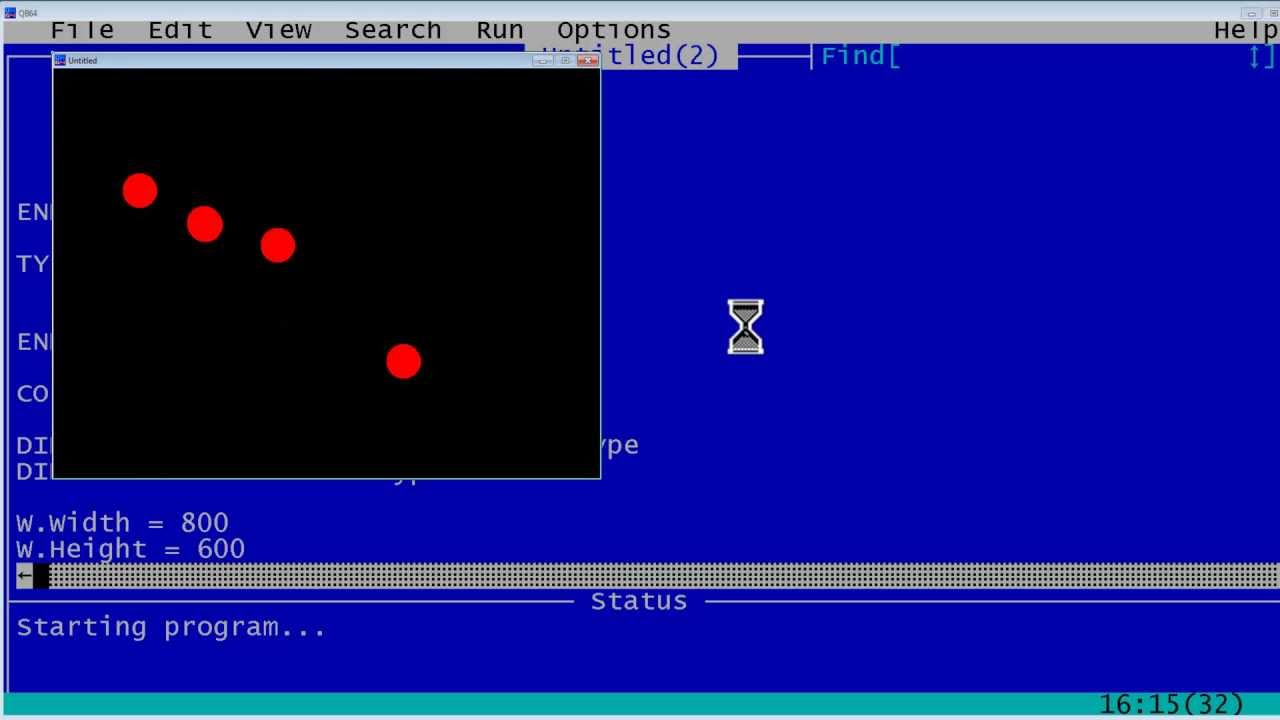 Qbasic Game Design