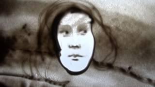 """студия """"Артпесок"""" Рисуем лицо в фас т.8921-2-520-530 / Уроки рисования песком"""
