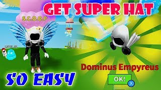 HUNTING DOMINUS HAT REALLY SO EASY IN ICE CREAM SIMULATOR || Roblox