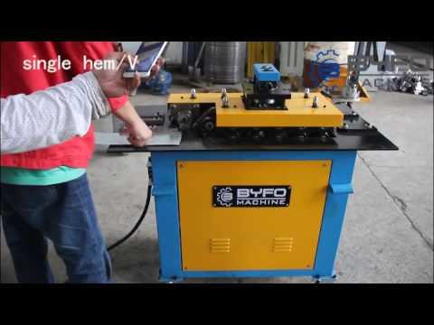 High Quality Byfo Multifunctional Lock Former Machine SA-12HB,mechanical Pittsburgh Lock Machine