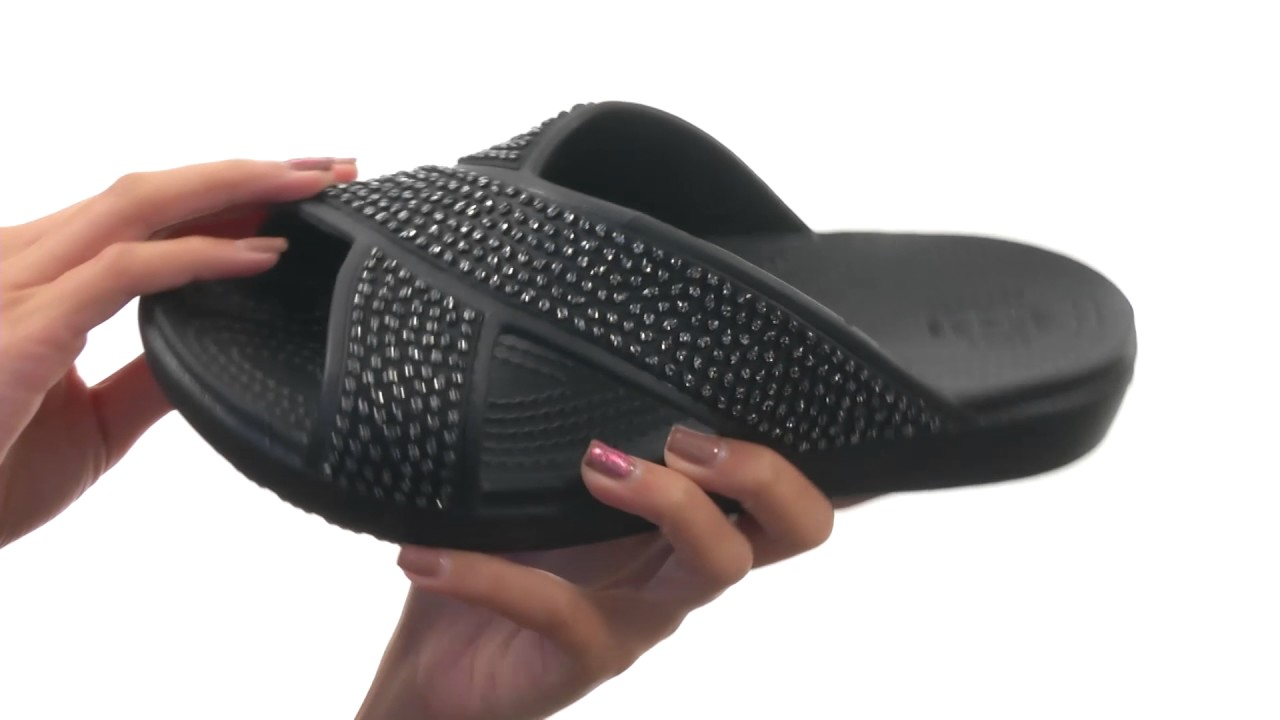 9663d6abe85 Crocs Sloane Embellished Xstrap SKU  8804410 - YouTube