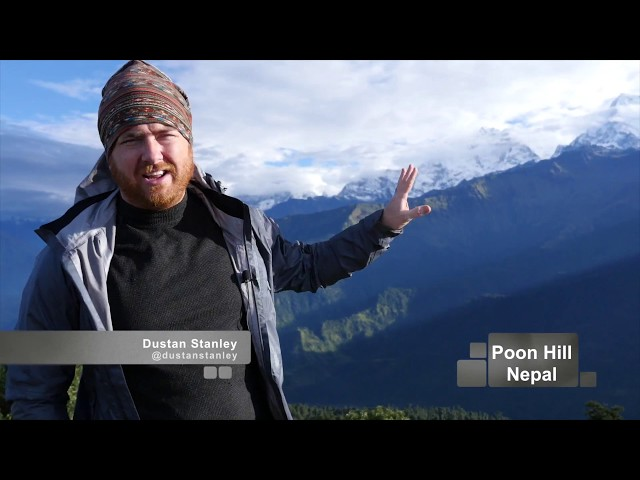 You will make it! - Inspirational Message from Poon Hill, Nepal - Pastor Dustan Stanley