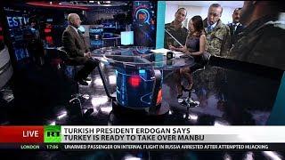 US-Turkey talks on Syria show Erdogan's desire to lead