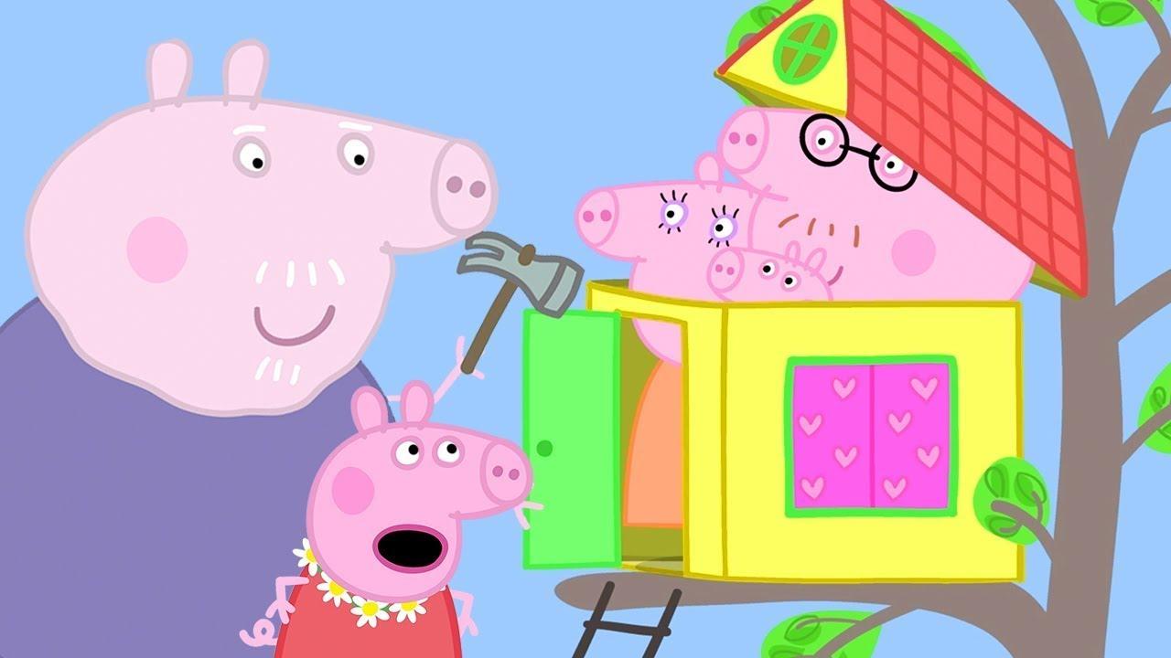 Peppa Pig Italiano - La Nuova Casa Sull'albero - Collezione Italiano - Cartoni Animati