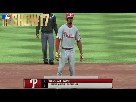 Nick Williams Makes His MLB Debut  MLB The  17