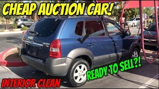 THE CHEAP AUCTION CAR IS JUST ABOUT READY TO SELL?!