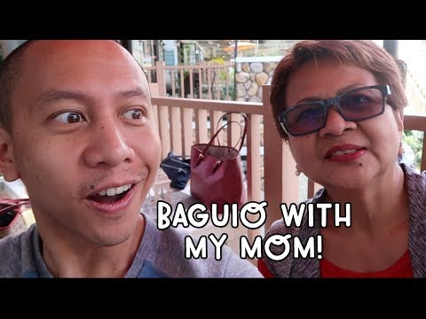 OMG! ROAD TRIP TO BAGUIO WITH MY MOM | Vlog #50