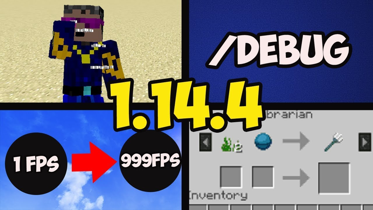 What's New in Minecraft 1 14 4 (part 1) Java Edition (Pre