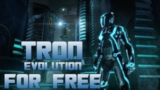 How to Get Tron Evolution For Free For PC! + Gameplay