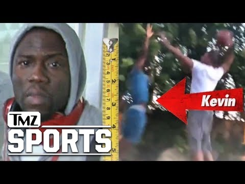 Kevin Hart Gets Dunked on by The Clippers' Chris Paul | TMZ Sports