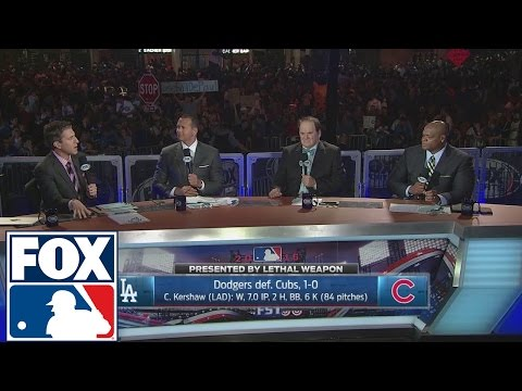 Los Angeles Dodgers defeat Chicago Cubs in Game 2 | 2016 NLCS | FOX SPORTS