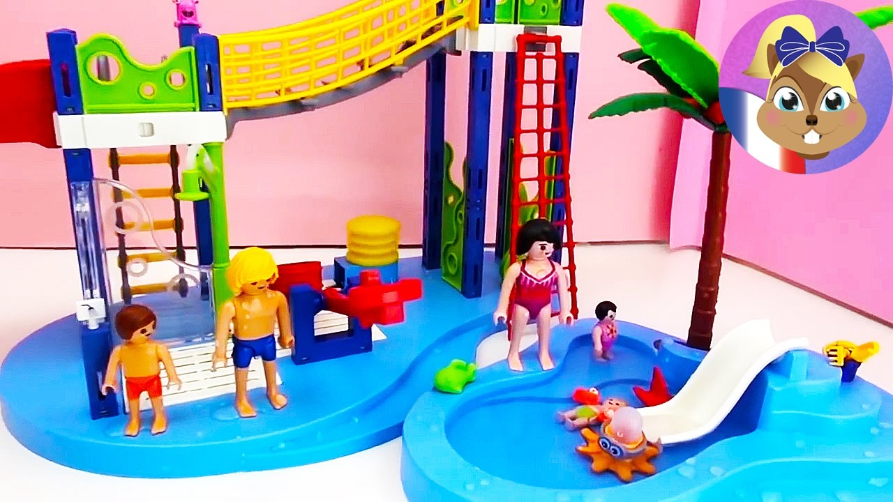 Playmobil summer fun piscine de b b nouveau jouer for Piscine playmobil