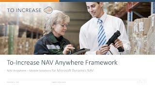 NAV Anywhere   Mobile Framework for Microsoft Dynamics NAV