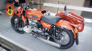 Как делают УРАЛ: тот самый мотоцикл с коляской!