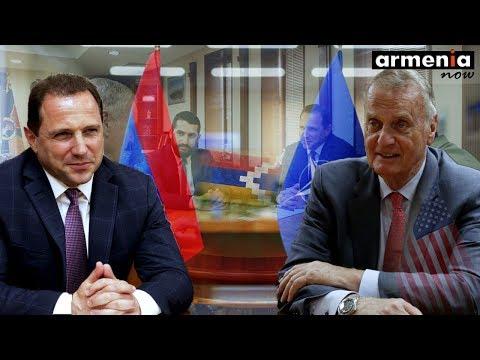 Глава Минобороны Армении представил Джеймсу Джонсу ситуацию на границе с Азербайджаном