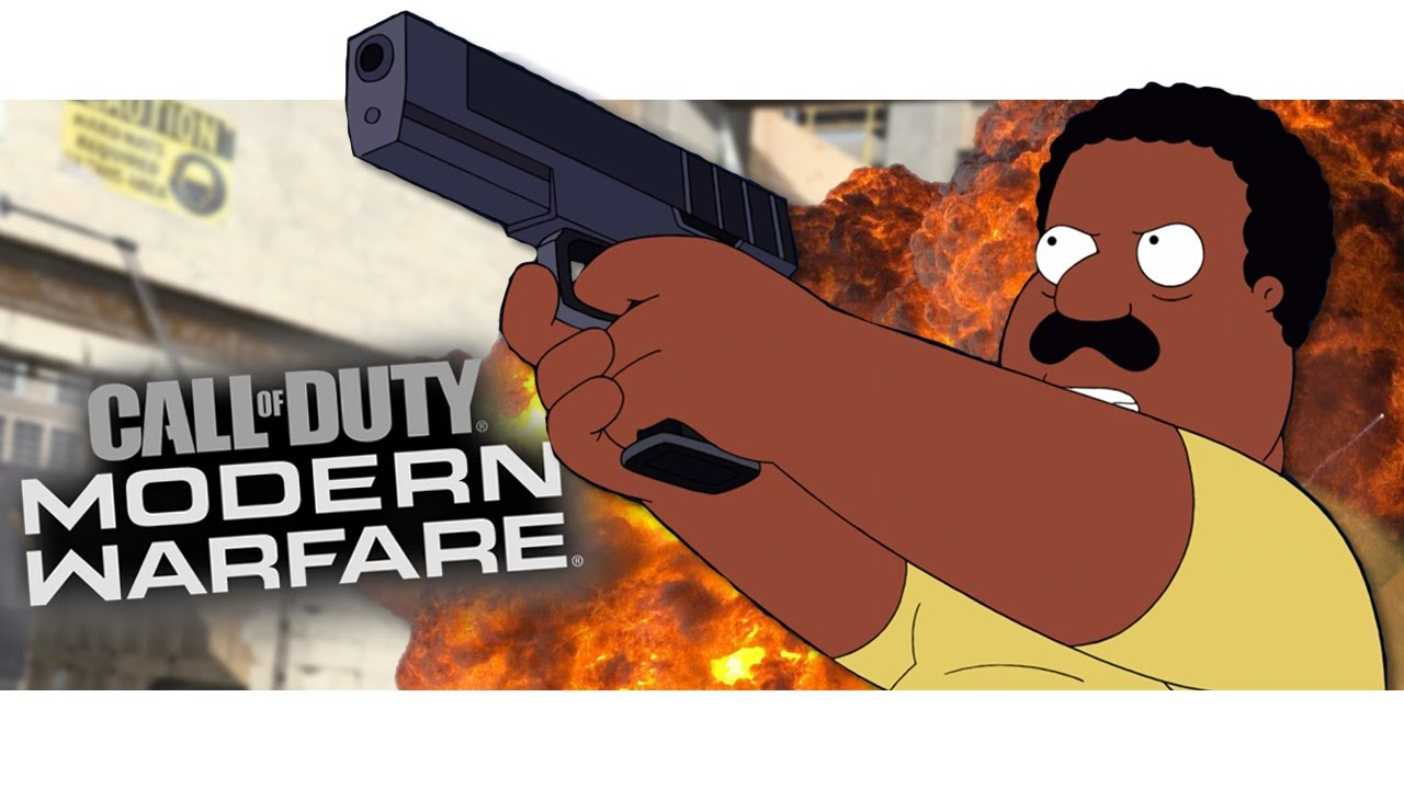 Cleveland Brown Plays Modern Warfare! (In honor of Mike Henry)