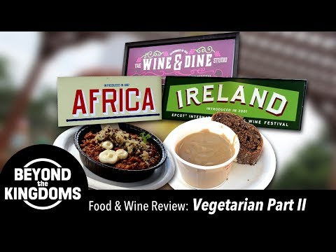Epcot Food & Wine Festival Best Vegetarian & Vegan Dishes Part II