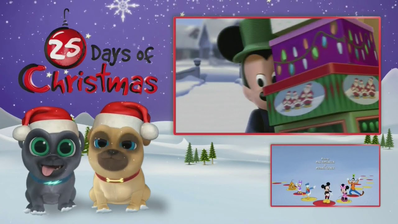 mickeys twice upon a christmas promo disney junior - Mickey Twice Upon A Christmas