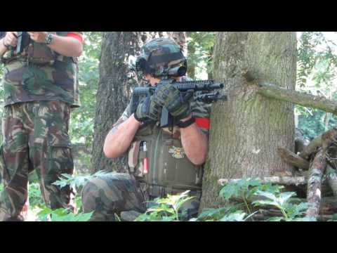 Airsoft Action Footage @ Balls & Arrows 09-07-2017 - Tippmann M4, Steyr AUG, M14 EBR