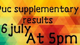 Puc supplementary results 2018
