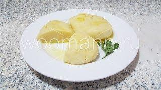 Картофельные котлеты на пару