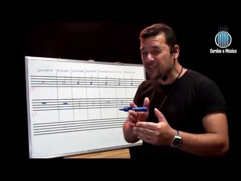 Teoria Músical - Conhecendo as Figuras Musicais - Cordas e Música - Aul.19/T.M.