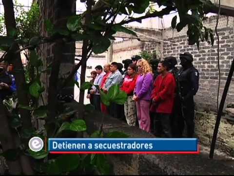 Detienen a siete secuestradores en Iztapalapa