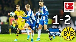 Sancho Hazard Spoil Klinsmann Debut I Hertha Berlin vs Borussia Dortmund I 1 2 I Highlights