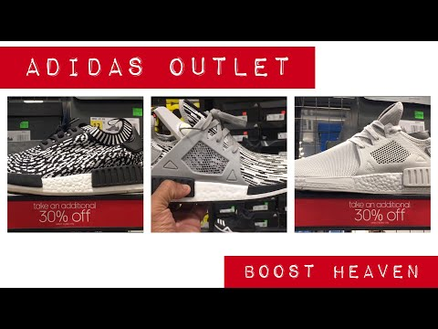 Boost Heaven in a Adidas Outlet in  Orlando, FL | Lost footage