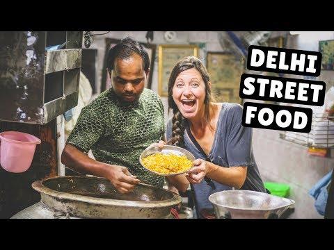 INCREDIBLE INDIAN STREET FOOD TOUR | Old Delhi's Best Street Food
