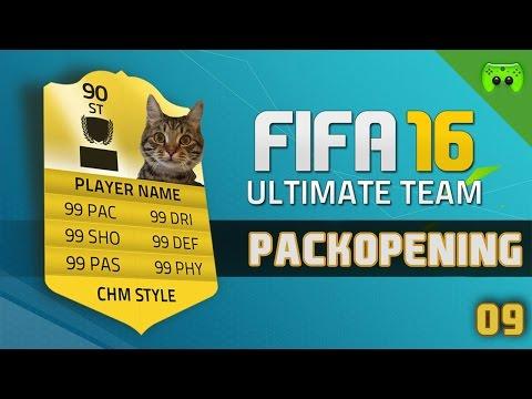 FIFA 16 # 09 - Schnittiges Packopening 1/2 - FULL HD 60 FPS - 동영상