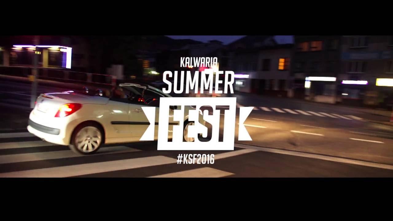 Kalwaria Summer Fest 2016- #ostrywkalwarii, zapowiedz imprezy