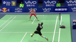 TOTAL Performance of the Day | Sudirman Cup 2015-Lin Dan vs Marc Zwiebler thumbnail