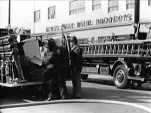 Fire Fighters: Company Response - circa 1940 - CharlieDeanArchives / Archival Footage