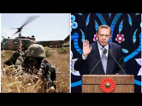Turkey vows to ESCALATE Syria WAR to eliminate 'terrorist' Kurdish fighters amid WW3 fears