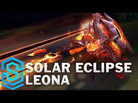 Solar Eclipse Leona Skin Spotlight - Pre-Release - League of Legends
