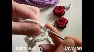 Video tutorial orecchini all'uncinetto con rosa rossa parte 1.mp4