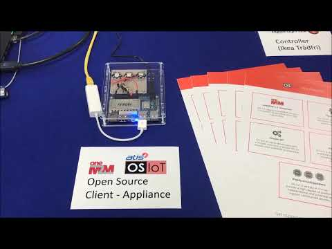 Demo of the ATIS Open Source Internet of Things (OS-IoT) Software Library
