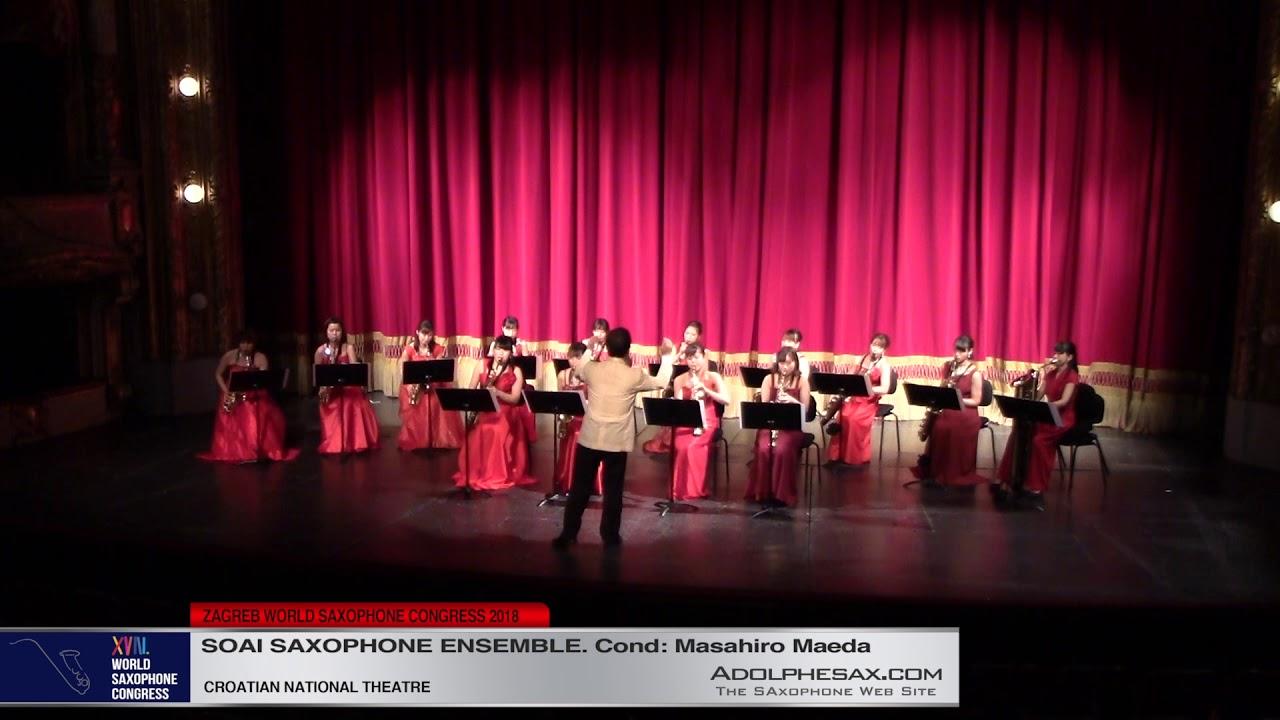 Antiche danze ed arie per liuto  by Otto Respigni    Soai Saxophone Ensemble   XVIII World Sax Congr