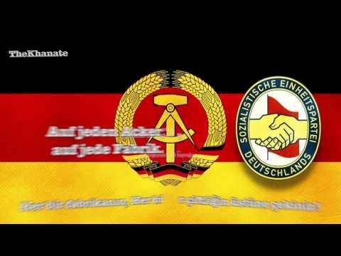 """Doğu Alman Komünist marşı """" Sozialistische Weltrepublik"""" (Der heimliche Aufmarsch)(Türkçe Altyazılı)"""