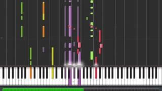 Tutorijal 100. Tom Jones Sex Bomb 100% - (Tutorials for piano - Syntesia)