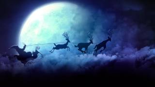 Video Background Full HD Here Comes Santa Claus