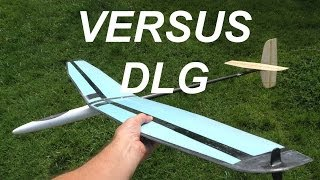 Versus Discus Launch Glider build
