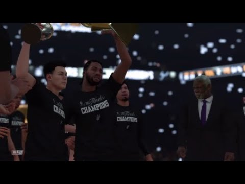NBA 2K18 Spurs Are 2019 NBA Champions