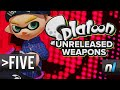 Five Unreleased Splatoon Weapons We Can't WAIT to Use
