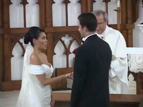 081018 Wedding Ceremony at St. Patrick's Catholic Church in Galveston, Texas