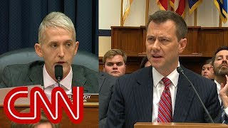 FBI agent Peter Strzok passionately defends himself at fiery House hearing