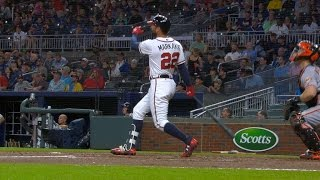SF@ATL: Braves connect for four homers vs. Giants