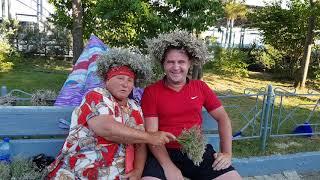 Баба люба из Ютуба (Коктебеля) по..бень трава