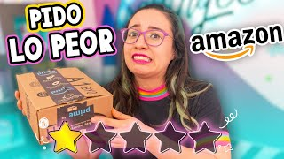 COMPRÉ los MATERIALES PEOR VALORADOS de AMAZON 🤢 *Que horror* ✂️ Craftingeek
